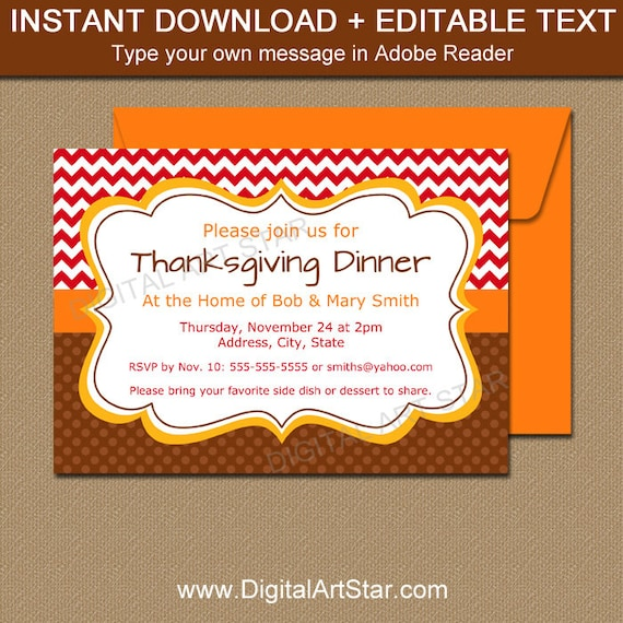 Thanksgiving invitation template thanksgiving birthday thanksgiving invitation template thanksgiving birthday invites fall birthday invitations autumn baby shower invitation party printable t1 stopboris Gallery