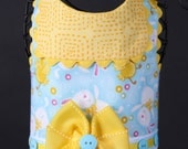 EASTER:  Bunnies on Blue Dog Harness