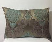 Damask Pillow Case,Bohem Pillow Cover, Harem Pillow Cover, Floral Pillow Case , Upholstery Pillow Cover , Ottommans Pillow Case