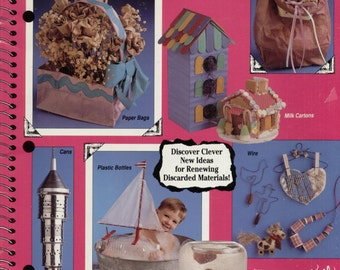 Recycle Scrapbook--Don't Throw It Away by Suzanne McNeill--Leisure Arts 2275