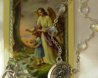 Guardian Angel Chaplet~Rosary Chaplet
