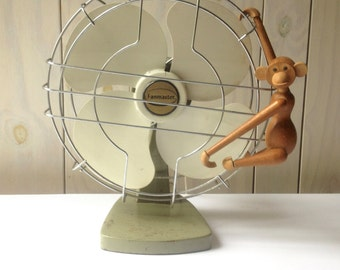Vintage Desk Fan, FanMaster Fan, Working Fan.