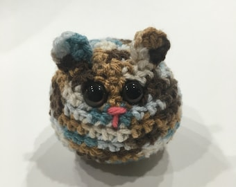 Cute Little Furball cute gift idea crochet toy
