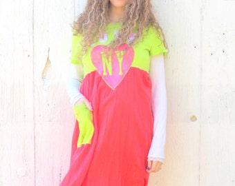 Maxi dress , upcycled Boho Dress , size medium large dress , junk gypsy style clothes , Mori Girl Romantic , Womens eco repurposed clothing