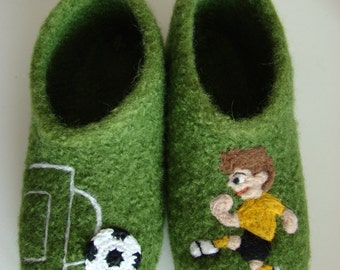 Kids football felt shoes Indoor shoes