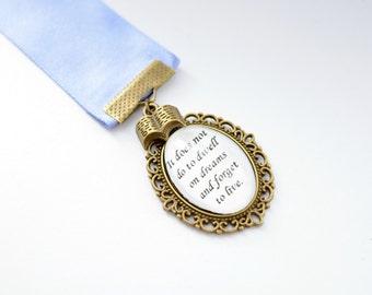 Dumbledore Inspired Bookmark