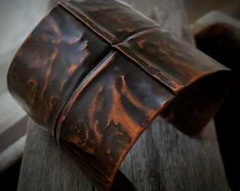 Copper Cuff, Fold Formed