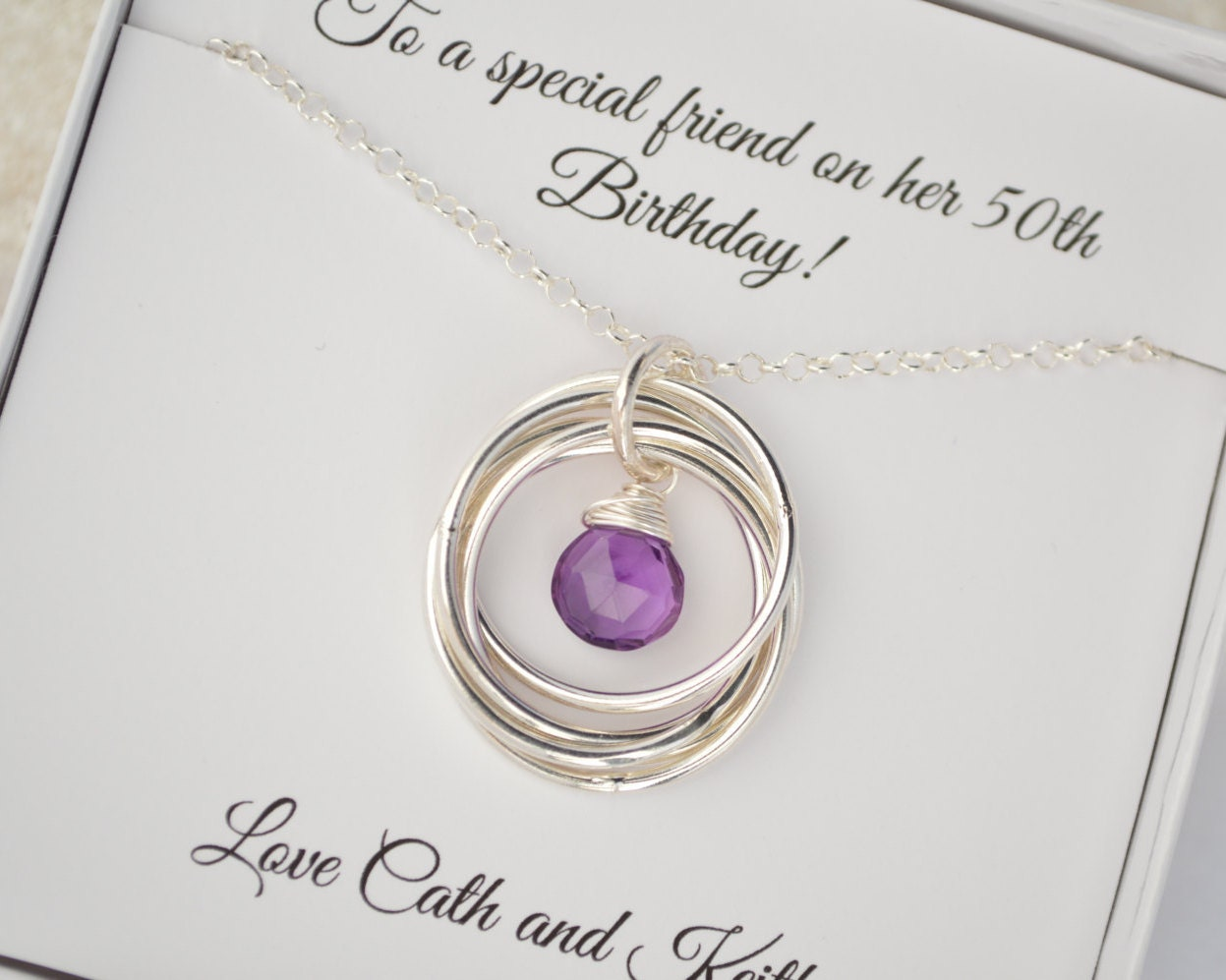 16 Year Wedding Anniversary Gift For Her: 50th Birthday Gift For Women, Gift For Wife, 50th Birthday