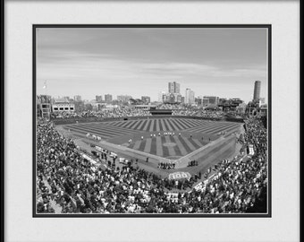 Wrigley Field Art - Cubs Celebration
