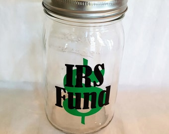 Custom mason jars top diy money jar irs custom mason for Cool money jars
