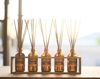 4 oz Reed Diffuser in Custom Kraft Box