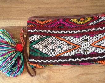Moroccan Vintage Kelim Clutch Bag
