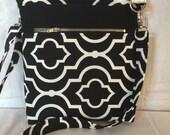Across The Body Bag, Adjustable strap, long handle purse, Travel Purse