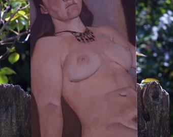 Figure painting 'Brooke'