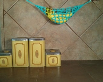 Banana Hammock - Special Edition (Aqua Lime Stripe) - Ready to Ship!