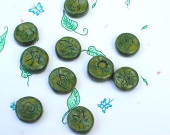 Green Fairy Runes, Divination, Runes, Fairy Magic, Faerie Runes, Fairy Runes, Divination Tools, Fortunetelling, Magic Runes, Fairy Magic