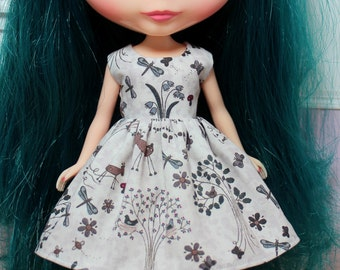 BLYTHE doll Its my party dress - woodland tales
