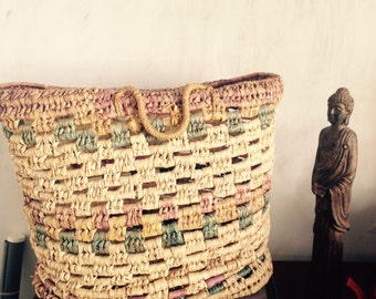 Palmleaf big bag for homedecor or storage