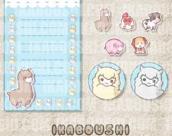 Harvest Moon Alpaca 牧場物語 Digital Art File