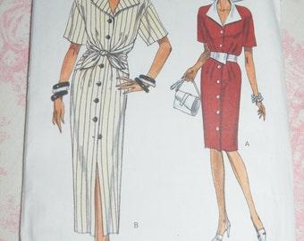 Vogue 8650 Misses Dress Sewing Pattern - UNCUT - Sizes 8 10 12