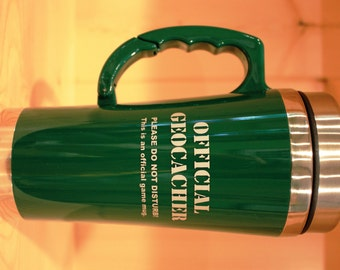 SUMMER SALE! Carabiner Travel Mug