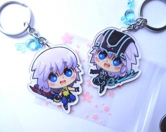 Riku Doublesided Keychain