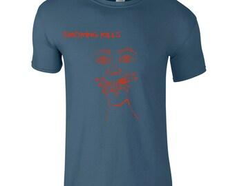 Husband t-shirt, gift for smoker, cigarettes tee, hand drawn illustration, unique men shirt, graphic t shirt