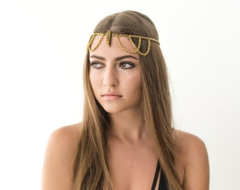 Goddess Convertible Head Chain?Necklace