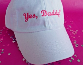Yes, Daddy? Baseball Hat