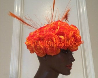 Haute Couture Headdress, Avant Garde, High Fashion, Couture, Haute
