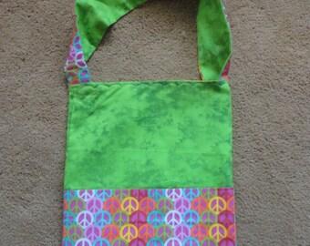Coloring Tote, Adult Coloring Tote Bag, Marker Tote, Artist Tote, Artist Bag,