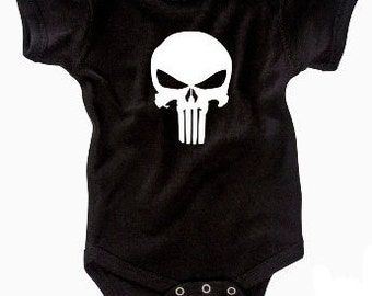 Marvel The Punisher Infant Bodysuit (NB - 24M)