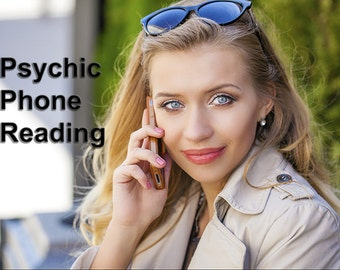 20 Minute Psychic Clairvoyant Reading via PHONE LIVE - Email / PDF Upon Request