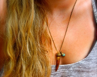 Wooden Tusk Collective Necklace