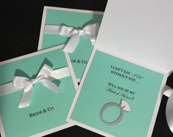Will You be My Bridesmaid Card, Bridesmaids Cards, Bride & Co. Cards