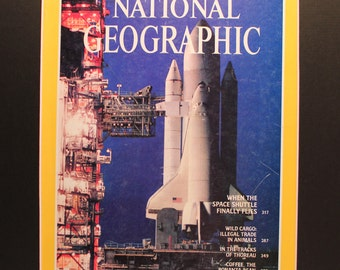 Space Shuttle National Geographic Cover - magazine photographic art/cool gift/Space program/NASA/exploration/astronauts/
