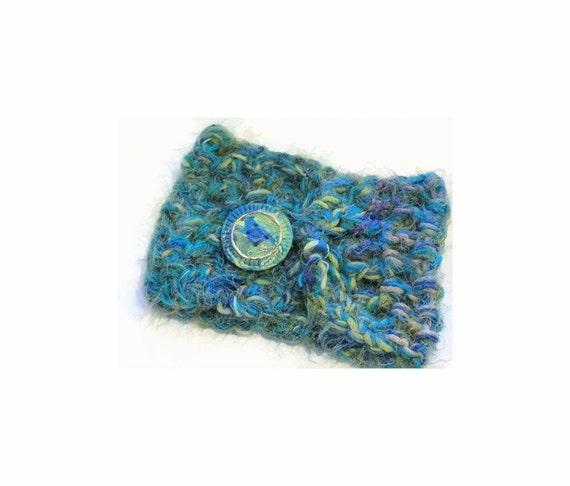 Scarf   Cowl   Neck   Warm   Winter Scarf   High Scarf   Coat Topper   Button Cowl Neck   Crochet Artisan Fibers   Unique Designer Scarf