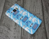 Generations Nintendo NES, SNES, N64, Gamecube, Wii, & Wii U Video Game Controllers Patterned Samsung Galaxy S6 / S6 Edge / S7 / S7 Edge Case