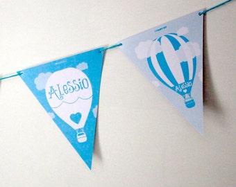 Air balloon banner