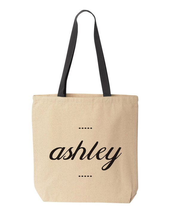 Custom Name Tote Bag Custom Tote Bags Custom Bride Totes