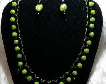 Sweet Pea Necklace Set