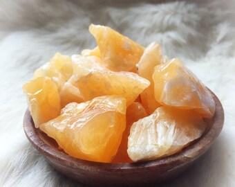 Orange Calcite (5 pieces)