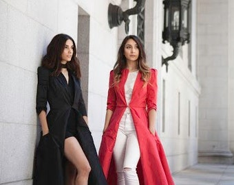 Charlene Coat - Custom Made in any color! Choose from the store!