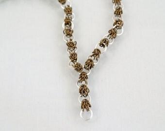 Scherzo Link Chainmaille Necklace