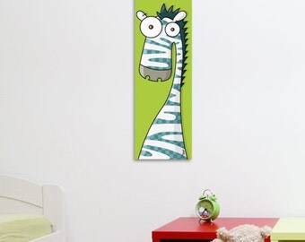 Zebra - Canvas - Color Print