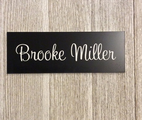 Cubicle name plates office name plate door sign office for Door design names