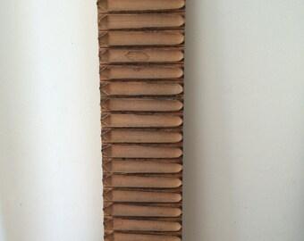 Vintage Otto Holzapfel Wood Cigar Mold/Wall Hanging