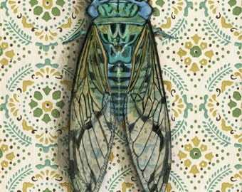 "Fine Art Print - ""Cicada"""