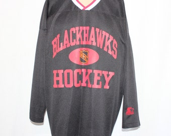 Vintage Chicago Blackhawks STARTER NHL Jersey L