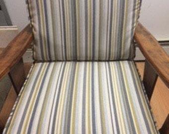 Sunbrella indoor/outdoor chair cushion covers